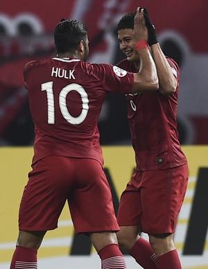 Hulk e Elkeson Shanghai SIPG Liga dos Campeões da Ásia (Foto: Getty Images)