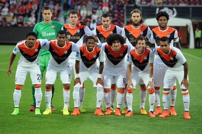 Shakhtar x Cluj (Foto: Reprodução / Site oficial Shakhtar Donetsk)