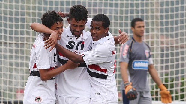 São Paulo sub-20 (Foto: saopaulofc.net)
