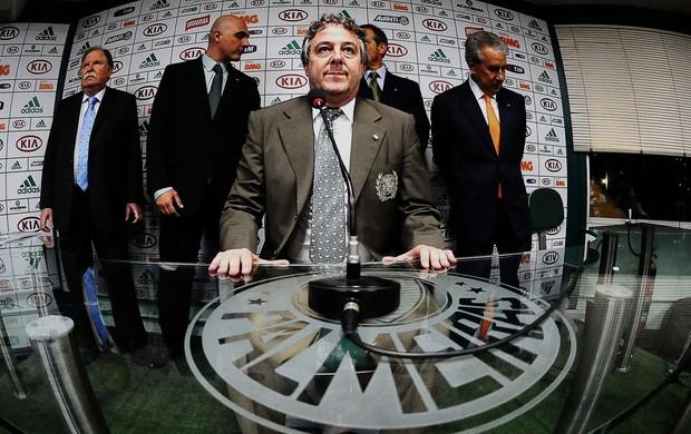 Paulo Nobre presidente do Palmeiras (Foto: Marcos Ribolli)