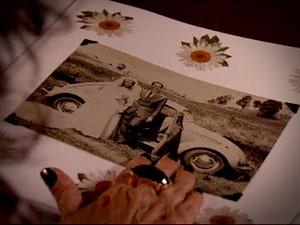 Muricy gosta de lembrar seu casamento com Leleco (Foto: Avenida Brasil/TV Globo)