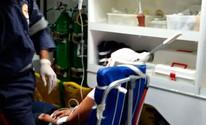 Mulher que sobreviveu após ter faca cravada na cabeça está consciente (Frarlei Antônio de Barros/Blog Blitz Conquista)