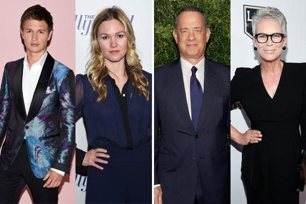 Ansel Elgort e Julia Stiles? Jamie Lee Curtis e Tom Hanks? Hollywood também é lar de 'gêmeos' que não vieram dos mesmos pais (Foto: Getty Images)