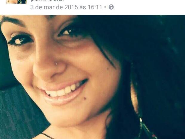 Gabriela Machado foi eletrocutada (Foto: Reprodução Facebook)