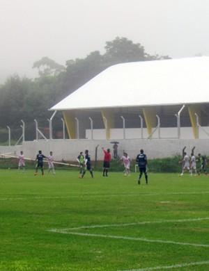 Caldense venceu primeiro jogo-treino contra o Itapirense (Foto: Rose de Oliveira / Assessoria de imprensa Caldense)