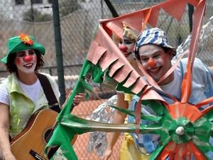 1ª edição do projeto Encena Parque será apresentada em Piracicaba - espetáculo Avoar (Foto: Rafael Canuto)