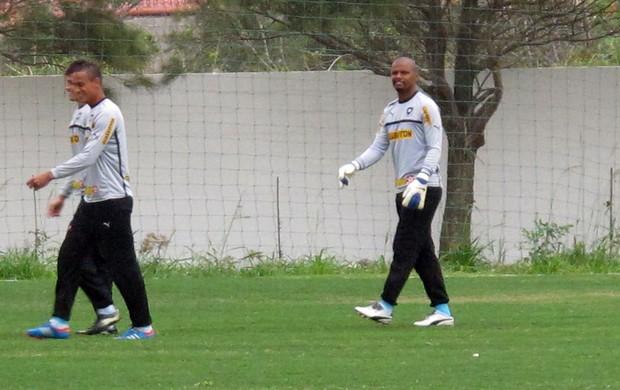Jefferson, Treino Botafogo (Foto: Thales Soares / Globoesporte.com)