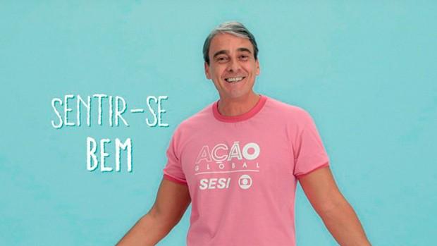 Alexandre Borges estrela nova campanha da Ação Global (Foto: Divulgação)