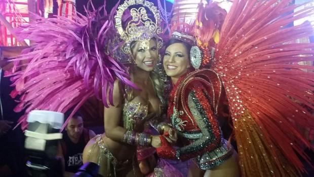 Cacau Colucci e Tânia Oliveira (Foto: EGO)