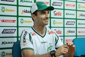 Treinador Júnior Rocha do Luverdense (Foto: Assessoria/Luverdense Esporte Clube)