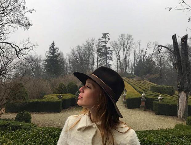 Mariana Ximenes na Itália (Foto: Reprodução/Instagram)