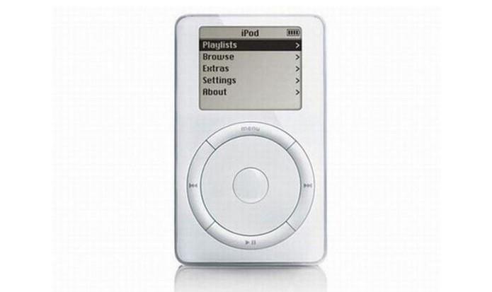 Primeiro iPod da Apple era conhecido como Dulcinmer (Foto: Divulgação/Apple)