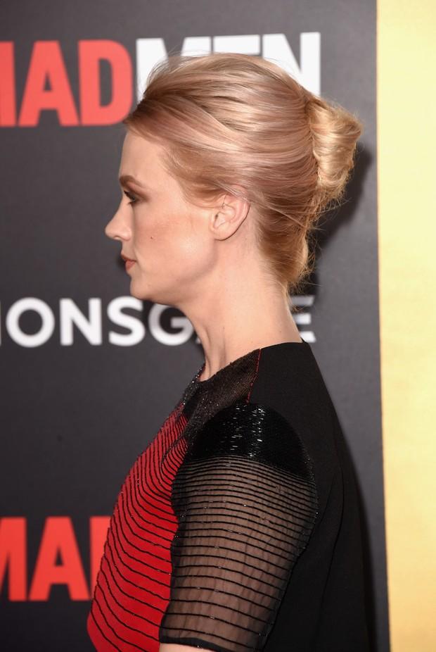 January Jones na première da última temporada da Mad Men (Foto: AFP)