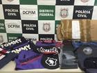 Polícia acha fábrica ilegal de mochilas e bolsas em Ceilândia, no DF