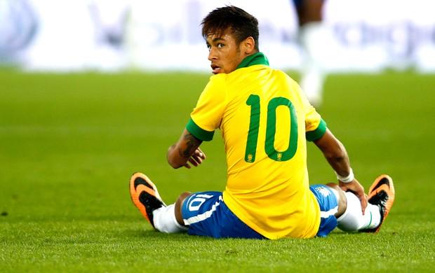 Neymar Brasil e Suiça (Foto: Agência Reuters)