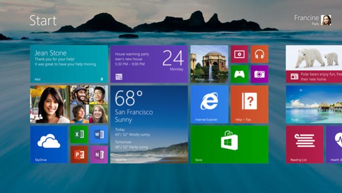 Atualização do Windows 8.1 deve corrigir bugs e melhorar estabilidade (foto: Reprodução/CNet) (Foto: Atualização do Windows 8.1 deve corrigir bugs e melhorar estabilidade (foto: Reprodução/CNet))