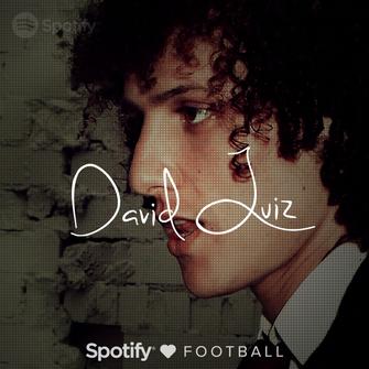 O jogador de futebol David Luiz é dos que tem uma playlist famosa no Spotify (Foto: Divulgação/Facebook/Spotify)