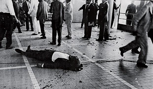 MILITAR E VÍTIMA Almirante Gomes Fernandes, morto no atentado ao aeroporto do Recife (Foto: arquivo/DP/D.A Press  )