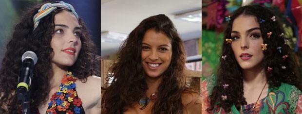 Luene curte os tons de rosa e Janaína se joga nos vermelhos (Foto: Geração Brasil/TV Globo)