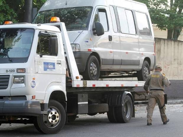 Operação apreende veículos de transporte clandestino em Belém (Foto: Ascom Semob)