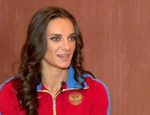 Yelena Isinbayeva (Foto: Reprodução SporTV)