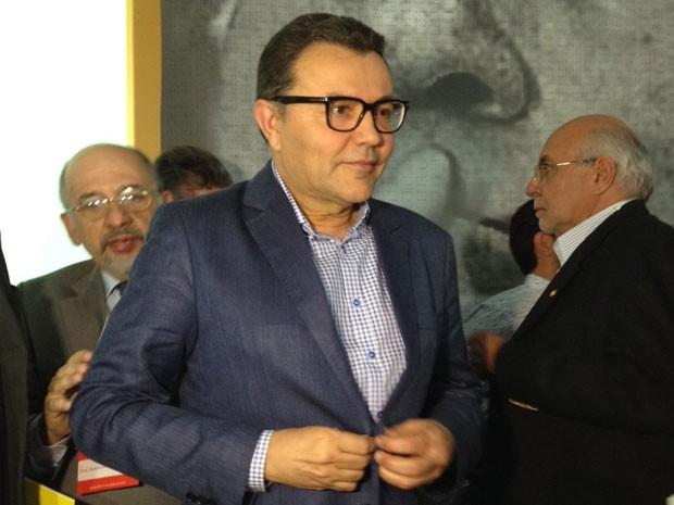 Carlos Siqueira, eleito presidente nacional do PSB (Foto: Fernanda Calgaro / G1)