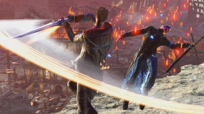 Dante está pronto para lutar novamente em DmC: Devil May Cry Definitive Edition (Foto: Divulgação)