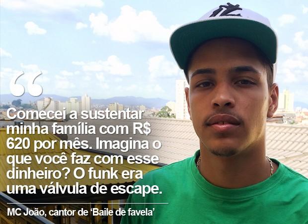G1 Baile De Favela Muda Vida De Mc João Que Sustenta Família