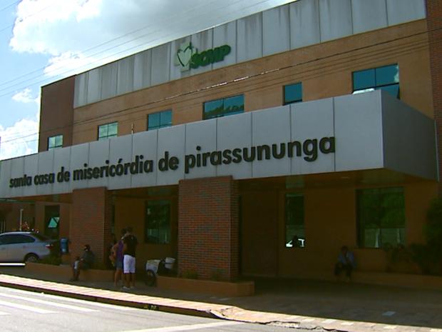 Santa Casa de Pirassununga aguarda exames para confirmar doença (Foto: Ely Venâncio/EPTV)