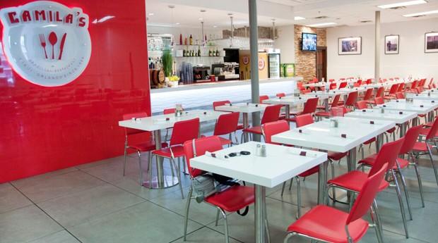 Interior do restaurante Camila's nos Estados Unidos (Foto: Divulgação)