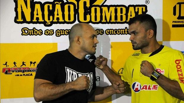 André Batata e Orlean Smith Nação Combat (Foto: Antônio Lima/Semjel)