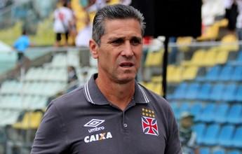 Jorginho elogia atuação do Vasco e ressalta alívio após vitória