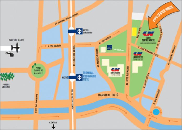 A BGS 2014 será realizada novamente no Expo Center Norte. (Foto: Reprodução/BGS)