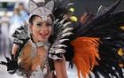 Tatuapé exalta Beth Carvalho em desfile (Raul Zito/G1)