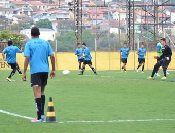 Treino Finalização Bragantino (Foto: Filipe Rodrigues)
