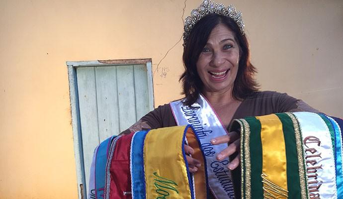 Para Neusa, os concursos servem para melhorar a autoestima  (Foto: Divulgação | Tô Indo)