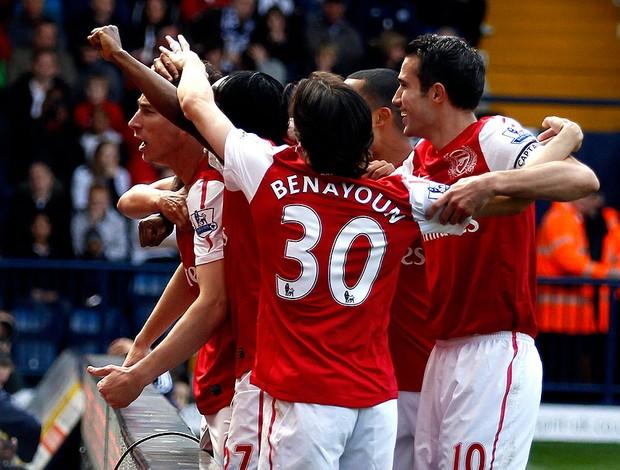 Koscielny arsenal gol west bronwich (Foto: Agência Reuters)