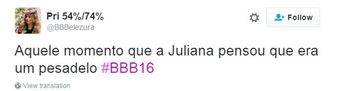 Ana Paula Volta ao BBB16 - 13 (Foto: Reprodução Internet)