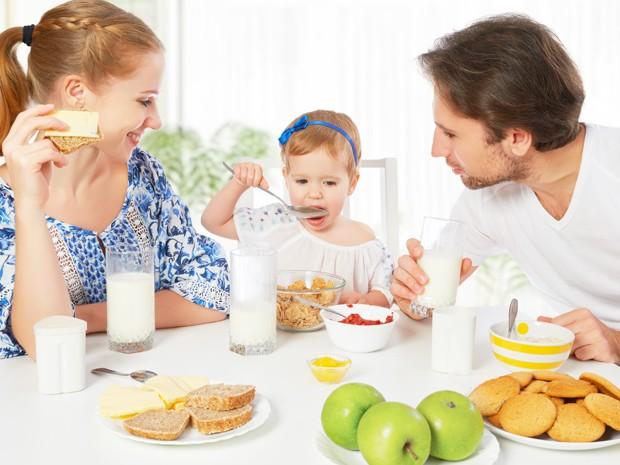 Que delícia reunir a família para o café da manhã! (Foto: Divulgação)