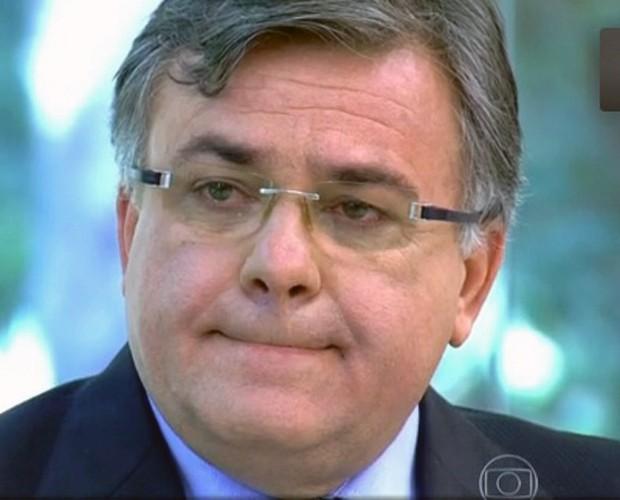 Obstetra não conteve a emoção (Foto: Mais Você / TV Globo)