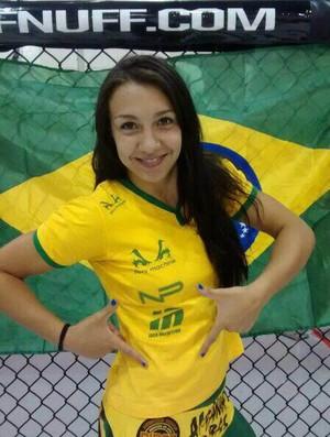 Amanda Ribas MMA Amador (Foto: Arquivo Pessoal)
