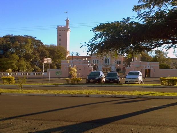 Escola de Cadetes do Exército, em Campinas (Foto: Luciano Calafiori/G1)