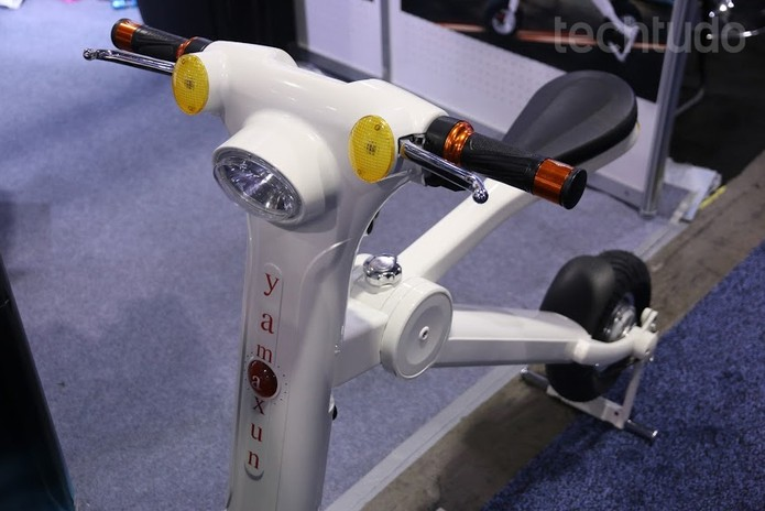 Bicicleta elétrica (Foto: Marlon Câmara / TechTudo)