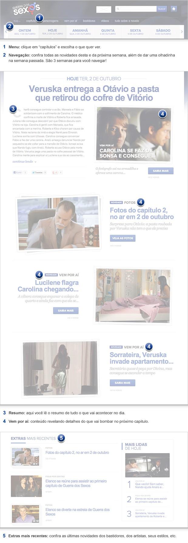 nova página (Foto: Guerra dos Sexos / TV Globo)