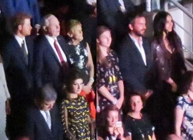 Príncipe Harry e Meghan Markle curtem eventos separados (Foto: BackGrid)