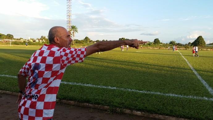 Cícero, técnico do Guajará Esporte Clube (Foto: Dayanne Saldanha)