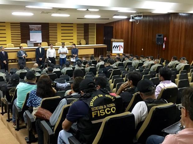 Operação foi deflagrada pelo MP-GO e pela Secretaria da Fazenda de Goiás (Foto: Divulgação/MP-GO)