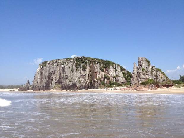 Torres litoral Rio Grande do Sul Nossa Terra (Foto: Luciane Kohlmann/RBS TV)