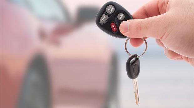 chave de carro (Foto: Reprodução)