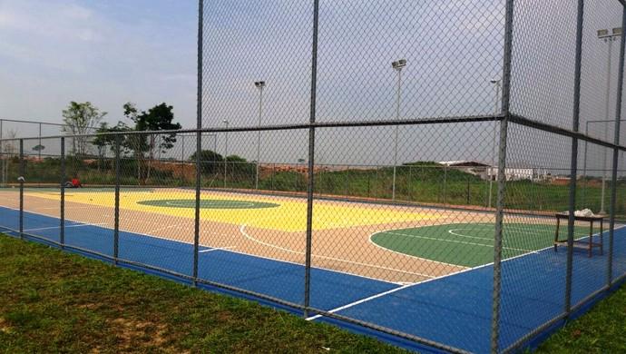 Quadra Poliesportiva na Cidade do Povo, em Rio Branco, capital do Acre (Foto: Divulgação/Secretaria Adjunta de Esporte)